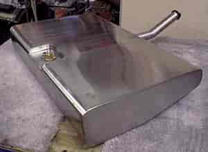Rick S Hot Rod Shop 3071 Stainless Steel Fuel Tank 1970
