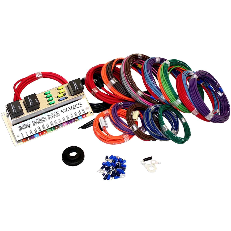Ron Francis Wiring Bare Bonz Universal Race Wiring Kit on