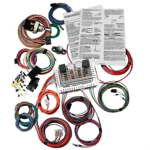 ron francis wiring express series wiring harness gm Model A Wiring Harness