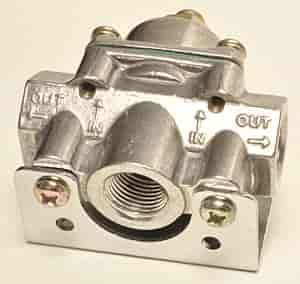Quick Fuel Cast LOW Pressure Fuel Regulator Part # 30-804 1-4 PSI