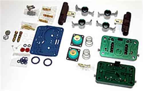 Quick Fuel 34-45E85 - Quick Fuel E-85 Conversion Kit For 4500 Series HP Carburetors