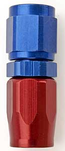 Russell 610010 - Russell AN Hose End Fittings - Red/Blue