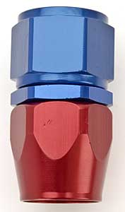 Russell 610050 - Russell AN Hose End Fittings - Red/Blue