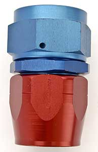 Russell 610070 - Russell AN Hose End Fittings - Red/Blue