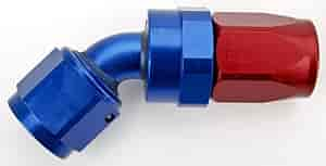 Russell 613100 - Russell AN Hose End Fittings - Red/Blue