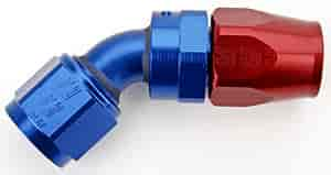 Russell 613110 - Russell AN Hose End Fittings - Red/Blue