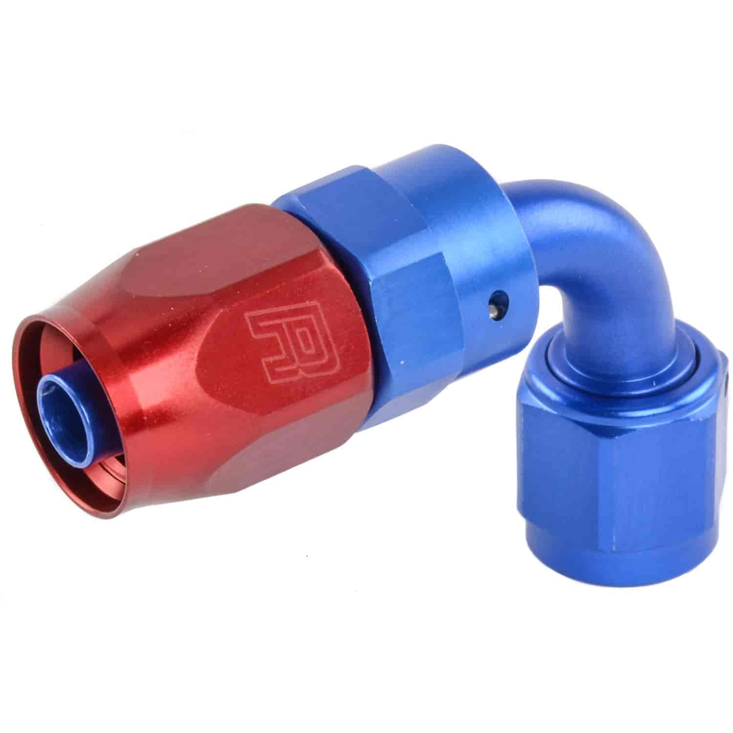 Russell 613160 - Russell AN Hose End Fittings - Red/Blue