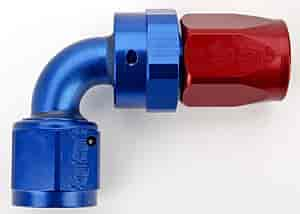 Russell 613170 - Russell AN Hose End Fittings - Red/Blue
