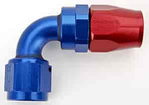 Russell 613180 - Russell AN Hose End Fittings - Red/Blue