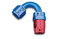 Russell 613400 - Russell AN Hose End Fittings - Red/Blue