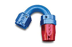 Russell 613450 - Russell AN Hose End Fittings - Red/Blue