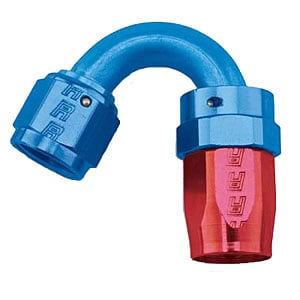 Russell 613470 - Russell AN Hose End Fittings - Red/Blue