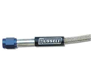 Russell 658250 - Russell Braided Stainless Steel Nitrous and Fuel Lines