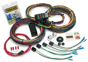 Painless Performance Products 10123 - Painless Custom Wiring Harness