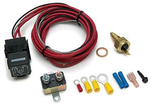 painless performance products 30106 fan relay kit w thermostat gm rh jegs com