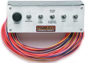 Painless Performance Products 50412 - Painless Non-Fused Toggle Switch Panels