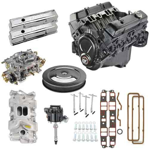 GM 350 Engine Kit W/ Components Includes Carb Intake