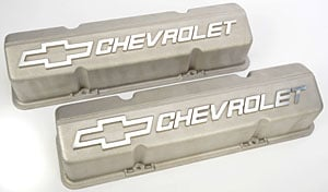 Chevrolet Performance 10185064 - Chevrolet Performance Small Block Chevy Competition Valve Covers