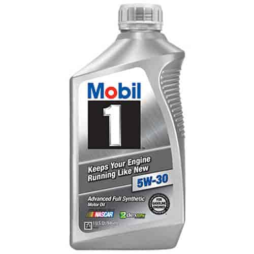 Chevrolet performance 12345885 mobil 1 advanced full for Mobil 1 annual protection motor oil barcode