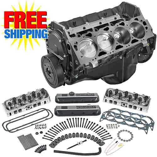 Chevrolet Performance 12371204 - Chevrolet Performance ZZ502ci/502HP Base Engine Kit