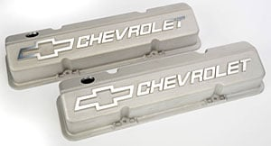Chevrolet Performance 12480127 - Chevrolet Performance Small Block Chevy Competition Valve Covers