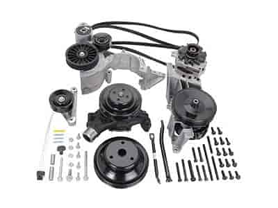 Chevrolet Performance 12497697 - Chevrolet Performance Small Block Serpentine Belt Drive Systems
