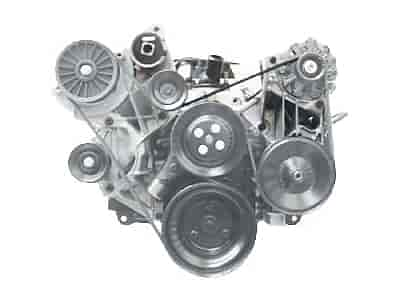 Chevrolet Performance 12497698 - Chevrolet Performance Small Block Serpentine Belt Drive Systems