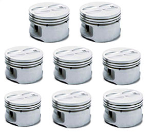 Chevrolet Performance 12499104 - Chevrolet Performance Aluminum Pistons