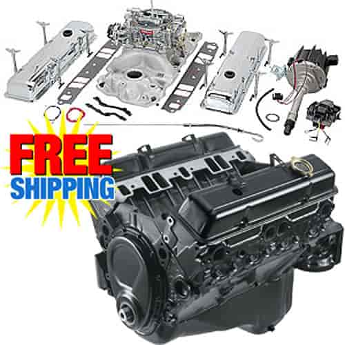 350 Chevy Engine Kit: Chevrolet Performance 19355658K3 350/290 Base Engine Kit