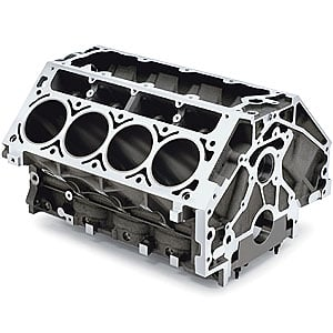 Chevrolet Performance Gen V Lt1 Lt4 Aluminum Bare Block: Chevy 12561166: 5.7L LS1/LS6 Bare Block Engine