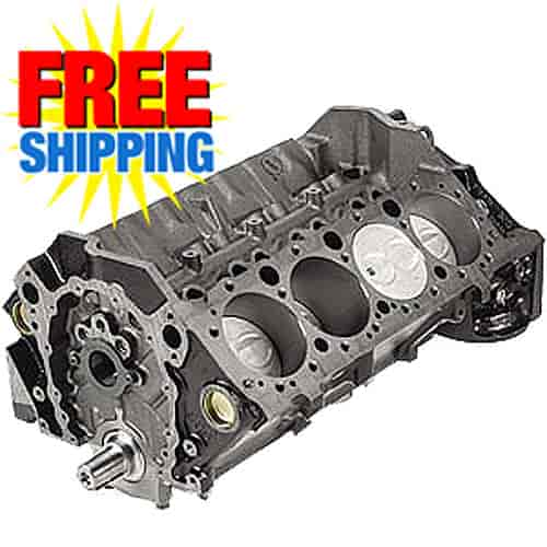 Chevy 12561723: 350 ZZ4 HO Short Block Engine Assembly