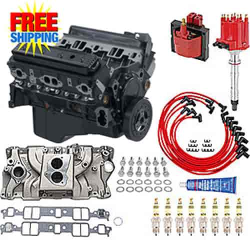 350 Chevy Engine Kit: Chevrolet Performance 12568758K2 GM Goodwrench 350 Truck