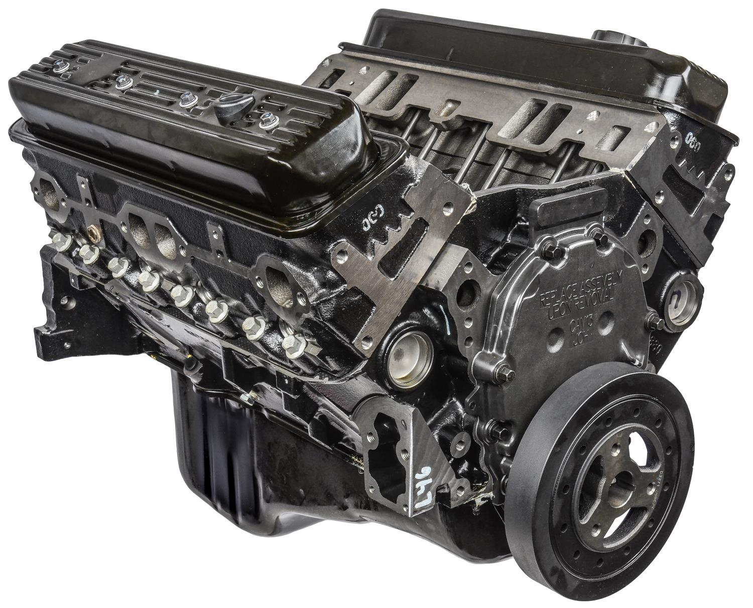 Chevrolet Performance GM 5 7L 350 Long Block Cast Iron Truck Engine  1996-2002 Chevy/GMC Truck/SUV/Van