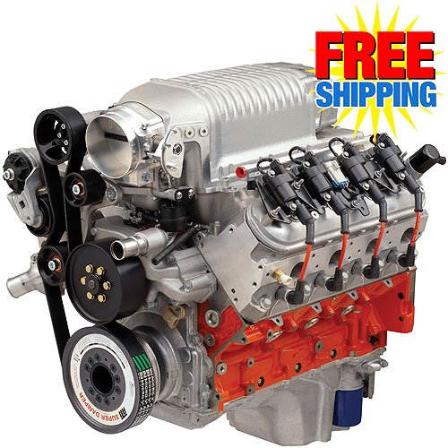 Chevy 17802826: COPO 327ci Supercharged Engine 500HP