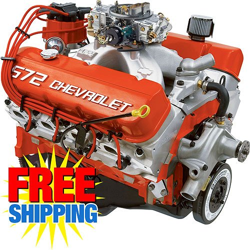 Chevy Performance Zz572 620 Deluxe 572ci 621hp Crate Engine