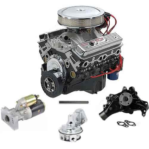 350 Chevy Engine Kit: Chevy 19210008K: 350 HO Deluxe 350ci Engine Kit 333 HP