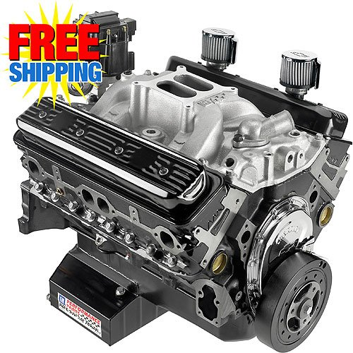 Chevrolet Performance 19258602 - Chevrolet Performance CT350 350ci/350HP Factory Stock GM602 Engine