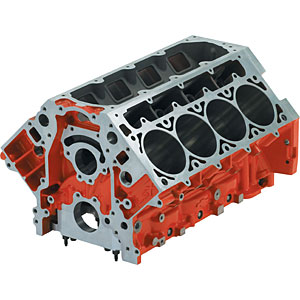 Chevy 19260099 Lsx454 Engine Block Standard Deck Jegs