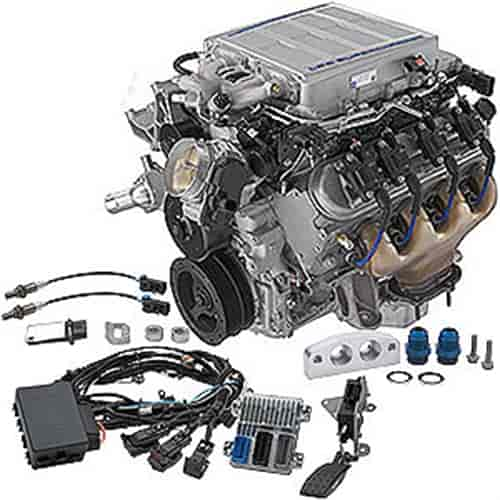 Chevrolet Performance LS9 6 2L Supercharged Engine Kit, Dry Sump Oil System