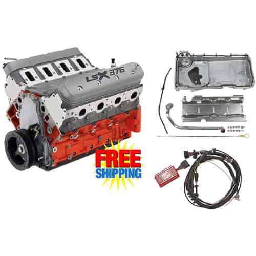Chevy 19332312k1 19260831k1 Lsx376 B8 376ci Engine Kit Carbureted