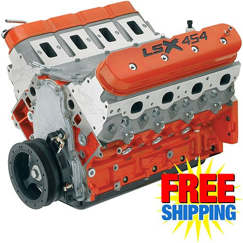 Chevy Performance LSX454 454ci/627HP Crate Engine | JEGS