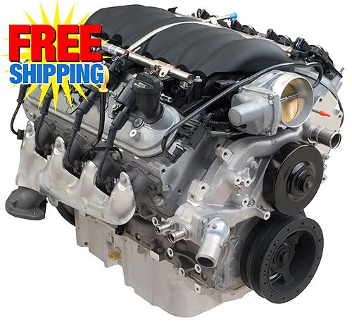 Chevy Performance LS3 6 2L 430HP Crate Engine | JEGS