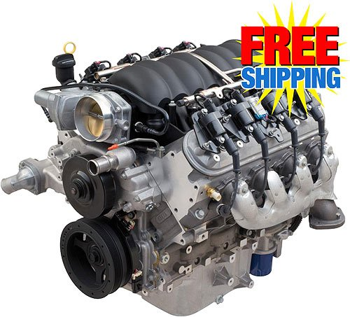Chevy Performance LS376/480 LS3 6 2L 495HP Crate Engine | JEGS