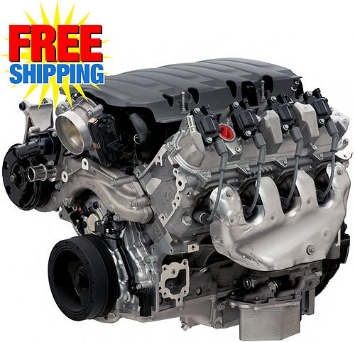 Chevrolet Performance 19328728 Lt1 376ci 6 2l Engine Wet