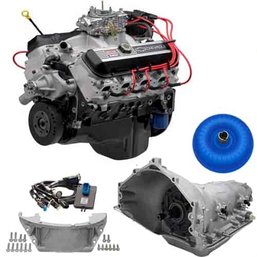 Chevrolet Performance ZZ502/502 Deluxe 502ci Connect & Cruise Powertrain  System 4L85-E Trans