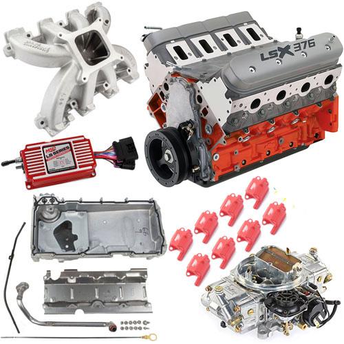 Chevrolet Performance LSX376-B8 376ci Engine Kit