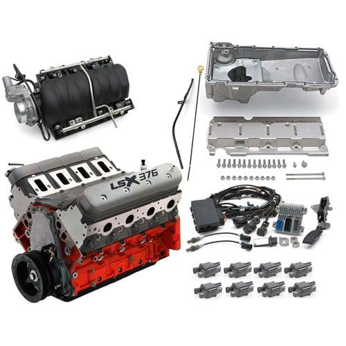 Chevrolet Performance LSX376-B8 376ci Engine Kit with Intake Manifold  Assembly