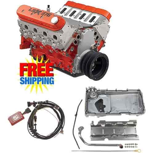 Chevy 19355575k1 19332320k1 Lsx376 B15 376ci Engine Kit W Muscle