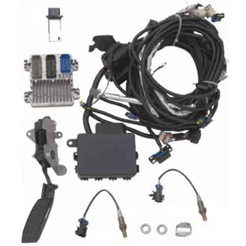 chevrolet performance 19356410 engine controller kit l96 jegs rh jegs com gm performance ls3 wiring harness GM Wiring Harness Diagram