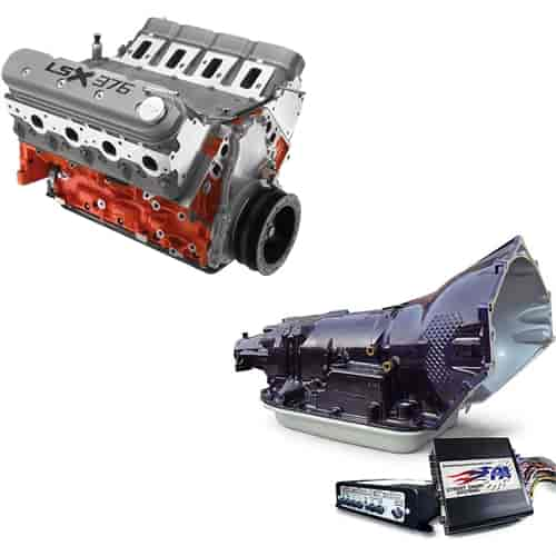 Chevrolet Performance LS3 Crate Engine and 4L60E Trans Kit